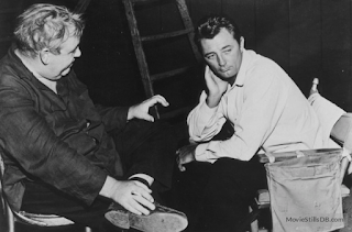 Charles Laughton and Robert Mitcham
