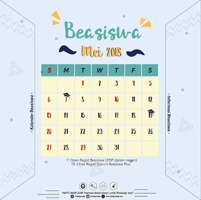 Kalender Beasiswa Bulan Mei