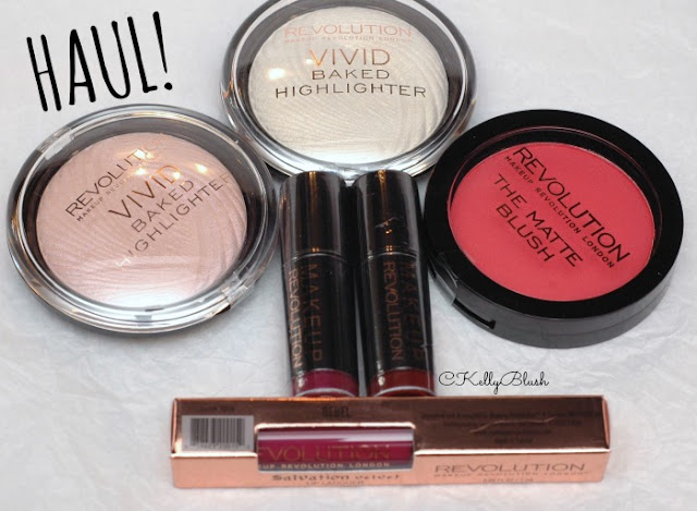 I Love a Good Haul: Makeup Revolution - CKellyBlush