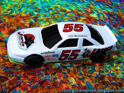 Ted Musgrave #55 Racing Champions 1/64 NASCAR diecast blog Pontiac Oldsmobile