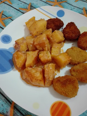 Sauce μουστάρδας γα πατάτες φούρνου