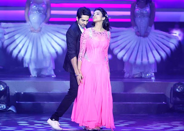 Ayushmann Khurana & Parineeti Chopra's Performance at the IIFA Awards 2013