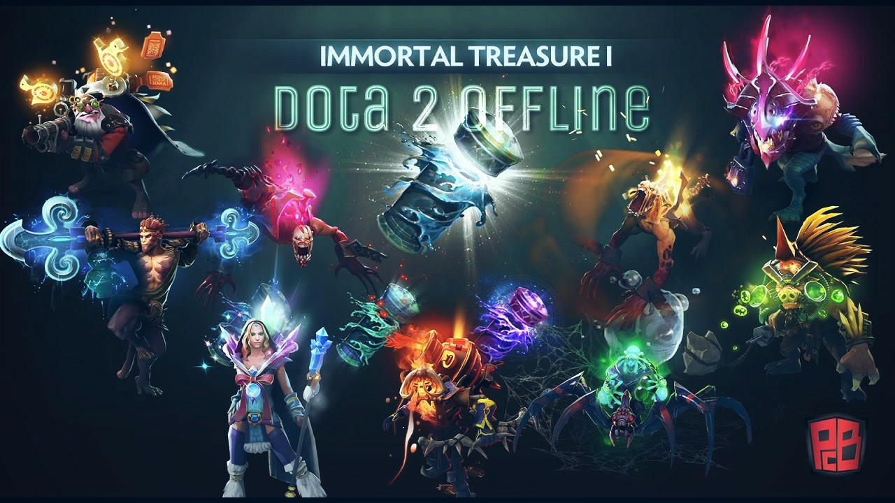 Latest Dota 2 Offline With Mod Skin Full Of 112 Heroes Arcana And