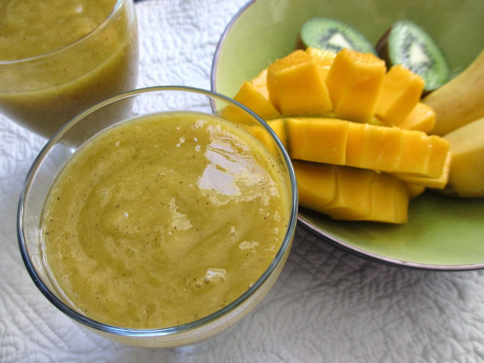 Cooking Julia Smoothie Mangue Banane Kiwi