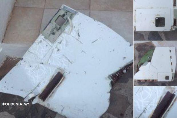 Dua Serpihan Yang Ditemui Hampir Pasti Milik MH370