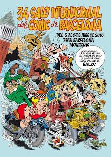 34º Salón Internacional del Cómic de Barcelona