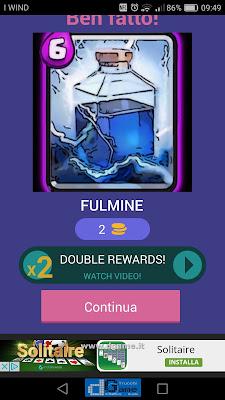 Indovina la carta Royale soluzione livello 25