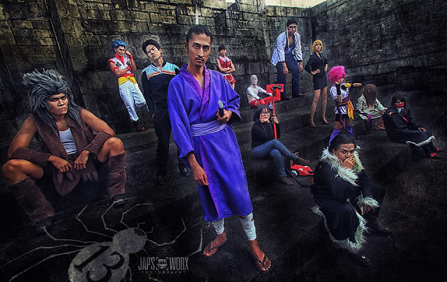 cosplay hunter x hunter geng laba-laba