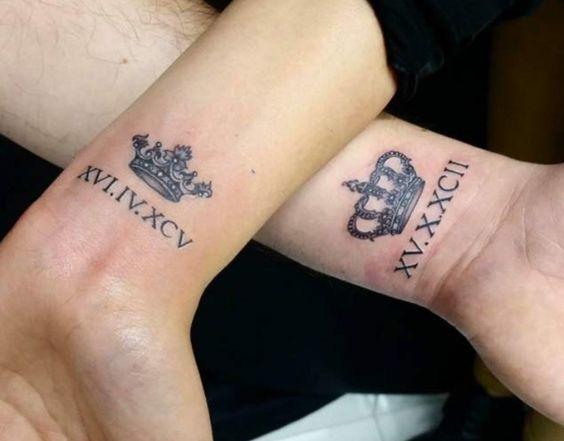 couple-tattoos-1 15 Sweetest Couple Tattoos Designs tattoo