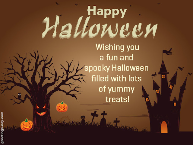 Halloween Sms Wishes 2017
