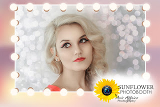 The Sunflower Photobooth by Aris Affairs Photography can make your Prescott fashion show a bit hit!