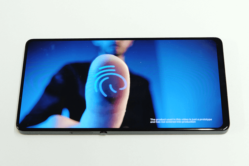 Vivo said that it will have a Half-Screen In-Display Fingerprint Scanner