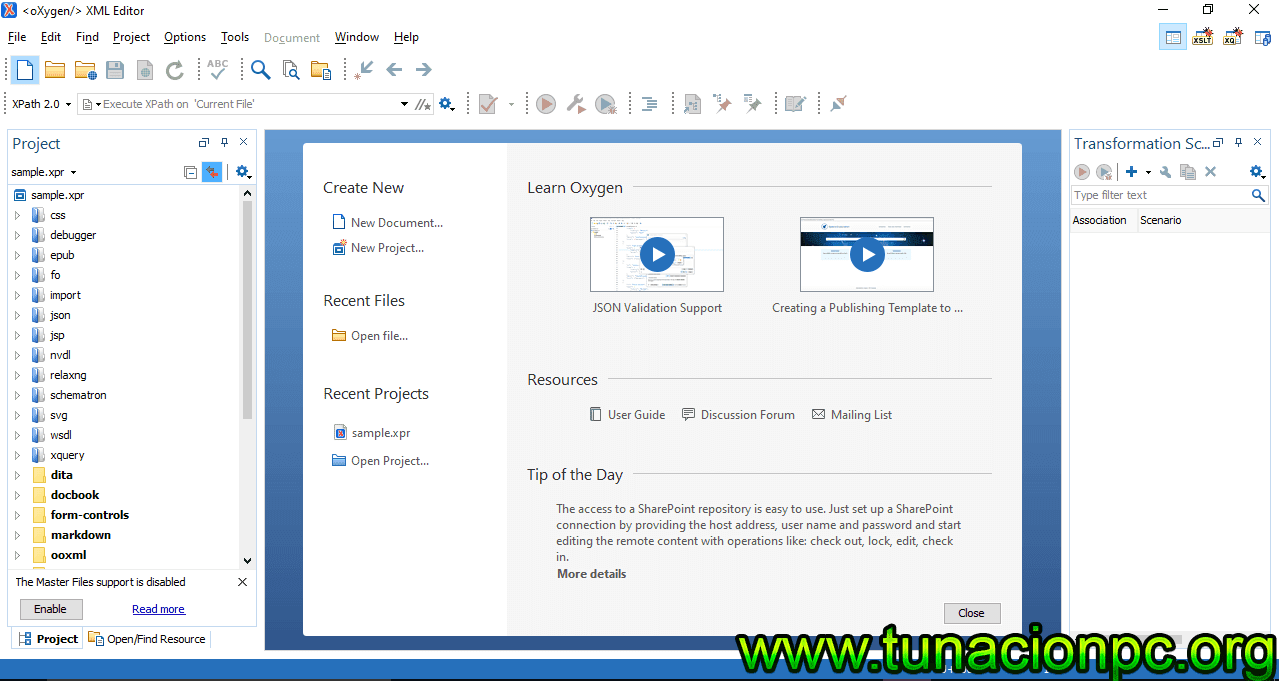 Descargar Oxygen XML Editor