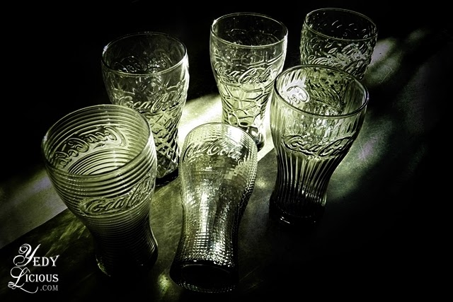 McDo Coke Glass Collection Designs