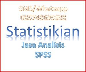 Jasa Bantuan Olah dan Analisa Data SPSS