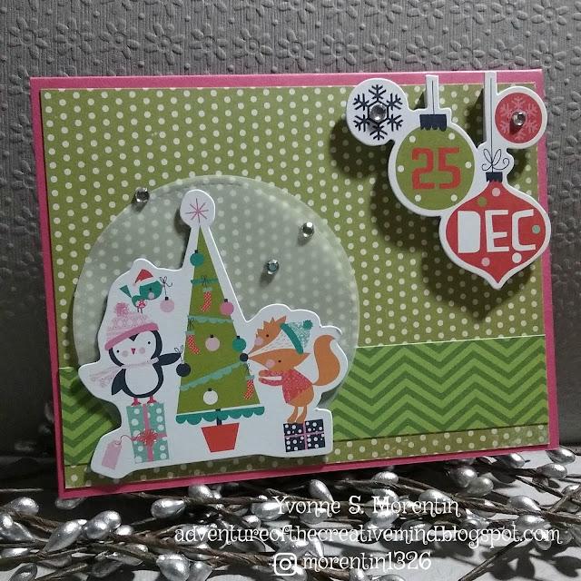 http://adventureofthecreativemind.blogspot.com/2017/02/pink-teal-christmas-cards.html