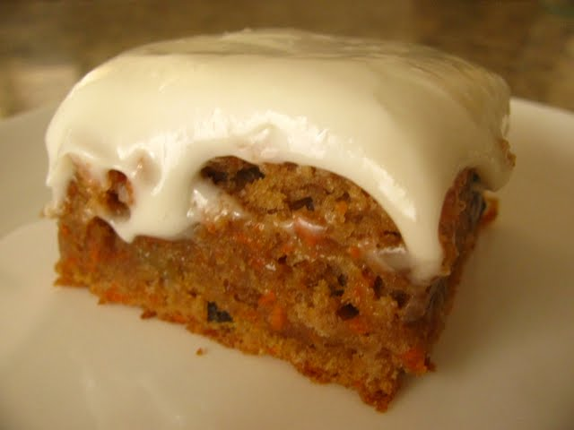 Carrot Cake With Rasins T And Walnuts