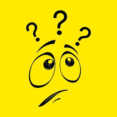 Warum Smilie, Gelb, Frage