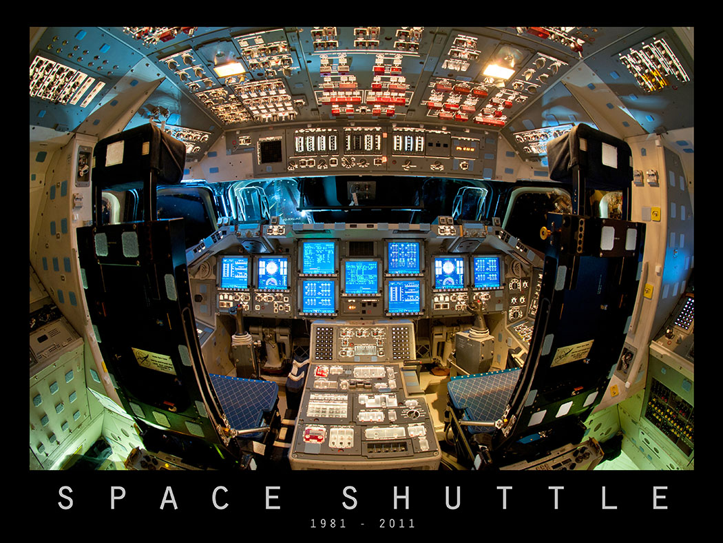 space shuttle flight deck - photo #4