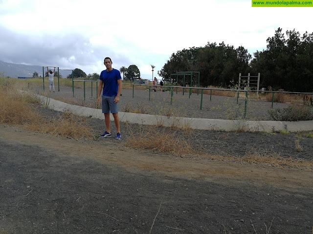 El PP de Breña Alta pide un mejor mantenimiento para la zona deportiva del aeropuerto viejo