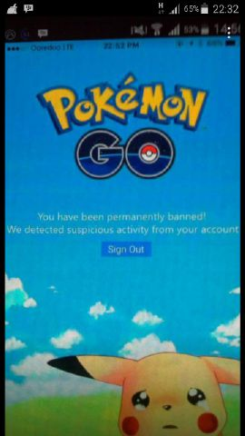 Jika anda bermain Pokemon Go usahakan jangan menggunakan Cheat Cheat ...