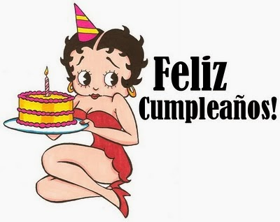Feliz cumpleaños Betty Boop