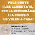 15 d'abril: manifestació convocada per l'Espai Democràcia i Convivència