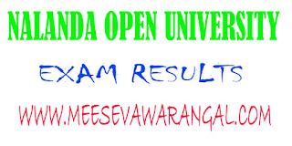 Nalanda Open University B.A (Psychology)III Part 2016 Exam Results