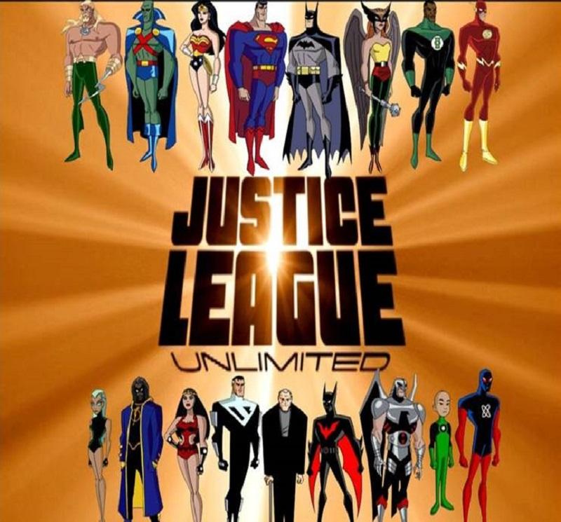liga da justiça sem limites 1 e a 2 temporada completa os griffins