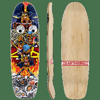 アースウィングスケートボード レイズンヘル33インチ復活 / 簡単パワスラデッキ!