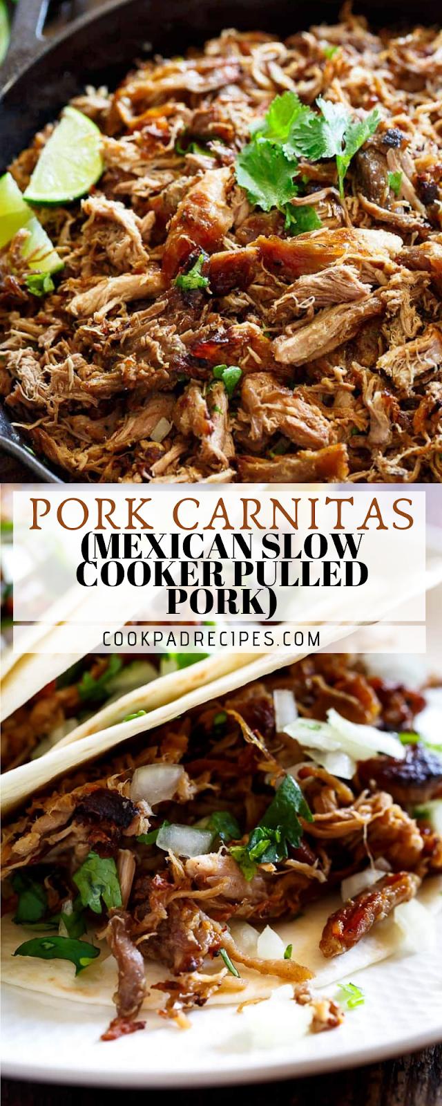 Pork Cаrnіtаѕ (Mеxісаn Slow Cooker Pullеd Pоrk)