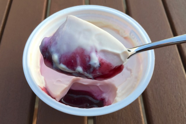 Alpro Go On Blackcurrant Yoghurt