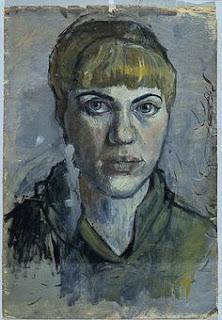 Untitled (self portrait) Pauline Boty, 1955