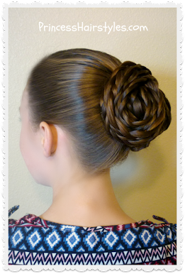 Easy textured updo hair tutorial
