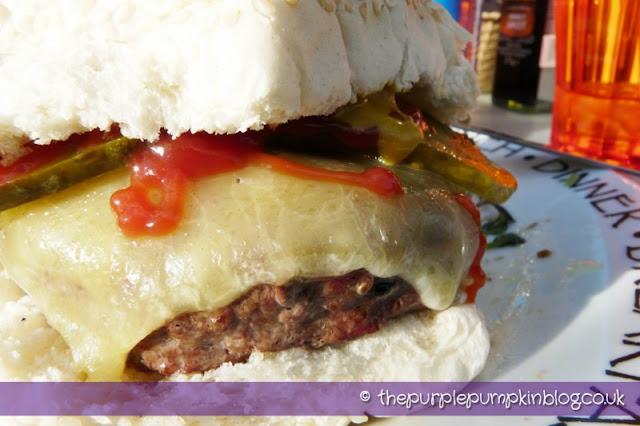 Juicy Homemade Hamburgers at The Purple Pumpkin Blog