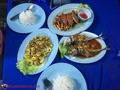 Hidangan Seafood Tasik Idaman