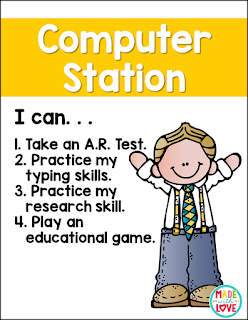 https://www.teacherspayteachers.com/Product/Language-Arts-Station-Posters-2644615