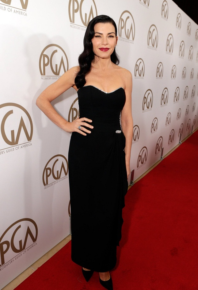 Julianna Margulies arrives at The 24th Annual Producers Guild of America Awards