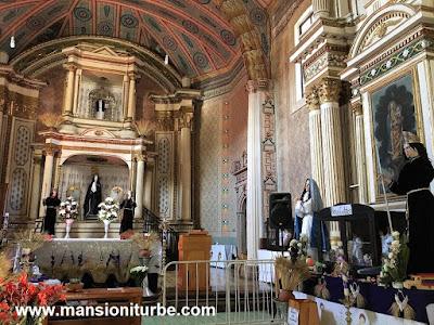 The Temple of Solitude in Tzintzuntzan, Michoacán