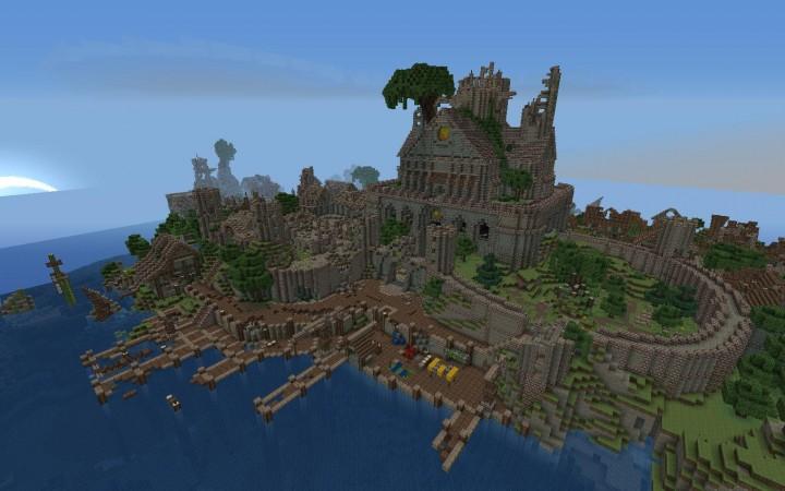 Ten Epic Minecraft Castles For Inspiration | Minecraft ...