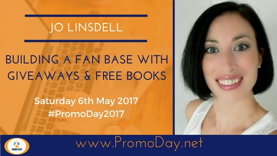 #FreeWebinar Building a fan base with giveaways and free books by @jolinsdell #PromoDay2017 www.PromoDay.net