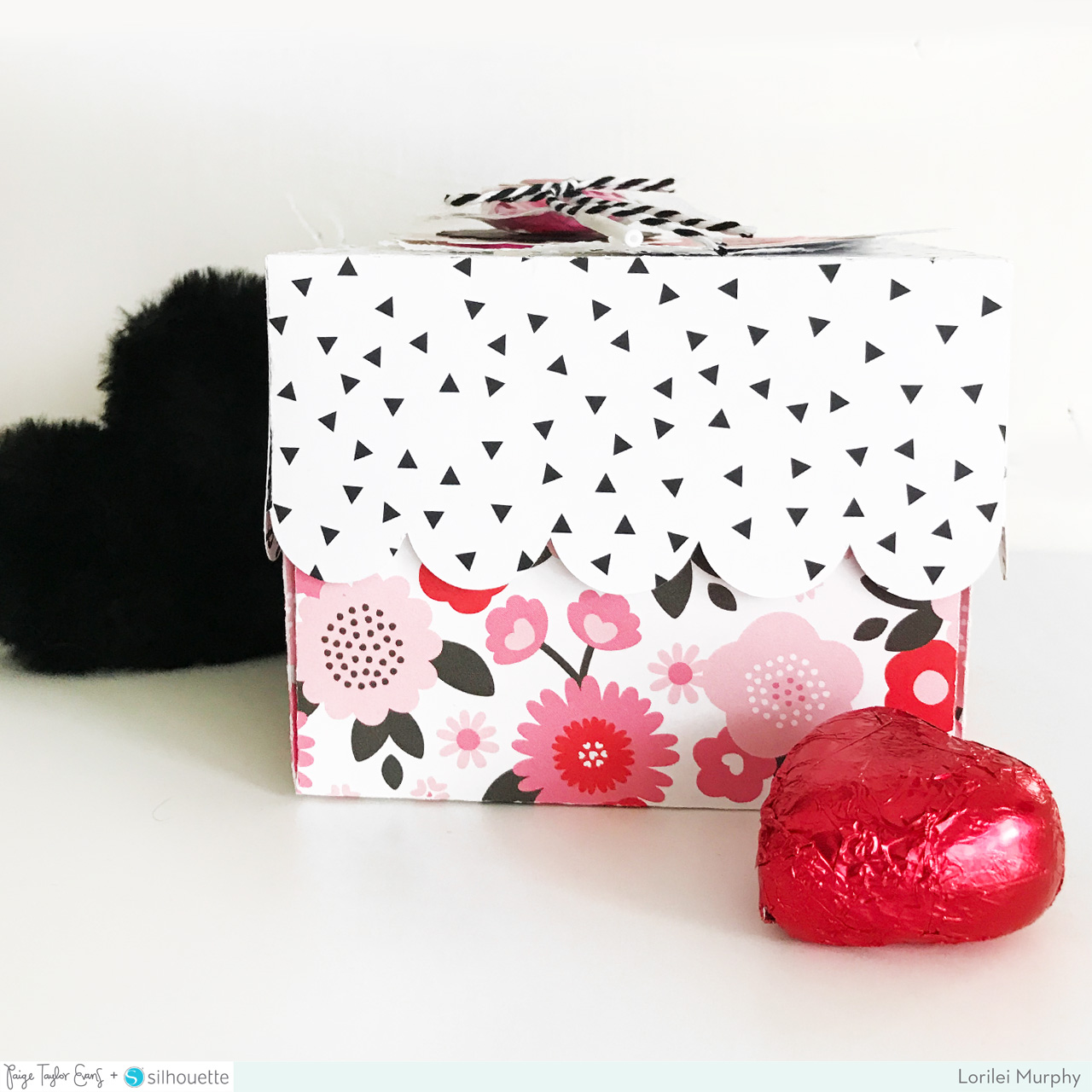 This Exploding Box Photo Album Is So Unique And Amazing: Valentine Heart Exploding Box By Lorilei Murphy