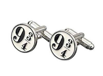 Harry Potter Platform 9 3/4 Cufflinks