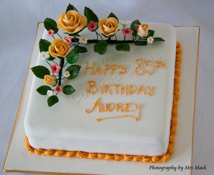85th Birthday Fruit Cake