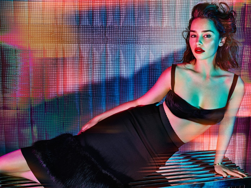 Emilia Clarke goes sultry for GQ UK October 2015