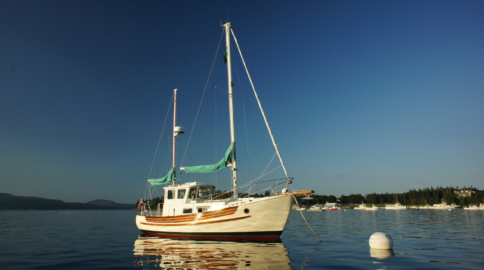 1977 Fisher 25 For Sale | Voyages of the