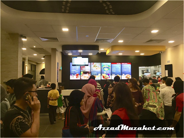 McDonald's Putrajaya 24 Hour Counter