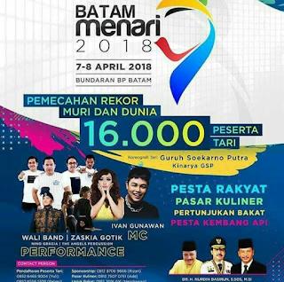 Batam Menari 2018