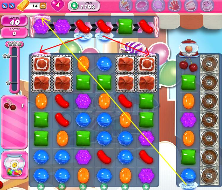 Candy Crush Saga 1702