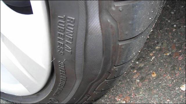 Lốp xe bị phù ở thành lố mang lại sự khó chịu khi di chuyển trên đường phố